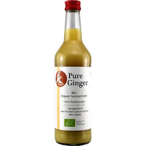 Tj-Foodmanufactur Pure Ginger 500 ml - EAN 674386747318