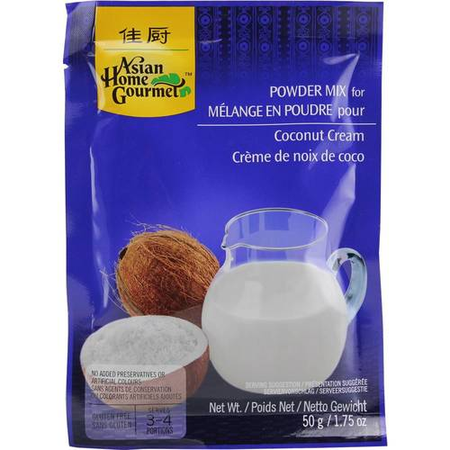 Asian Home Gourmet Powder Mix Coconut Cream Kokoscreme...