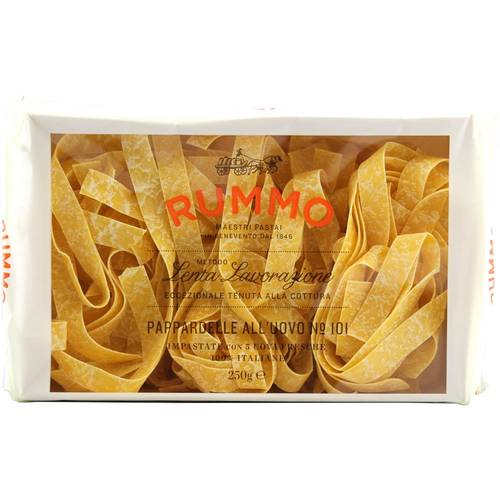 Rummo Pappardelle all'Uovo N°101 Bandnudeln 250 g - EAN...