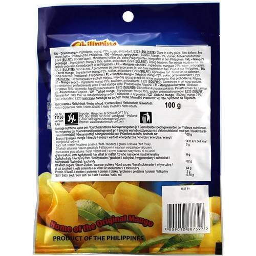 Philippine Brand Dried Mangoes Trocken 100 g -2