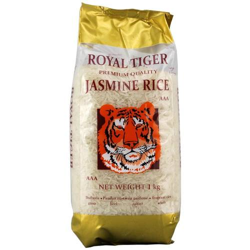Royal Tiger Jasmine Reis 1 kg - EAN 8720301100354