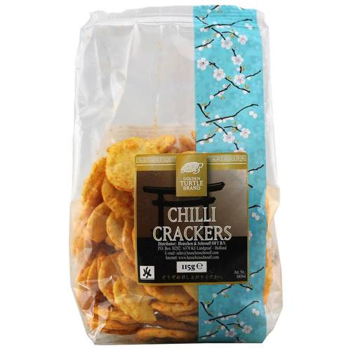 Golden Turtle Brand Chilli Crackers 115 g - EAN...