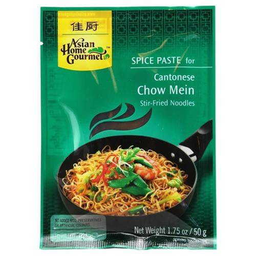 Asian Home Gourmet Spice Paste Cantonese Chow Mein 50 g -...