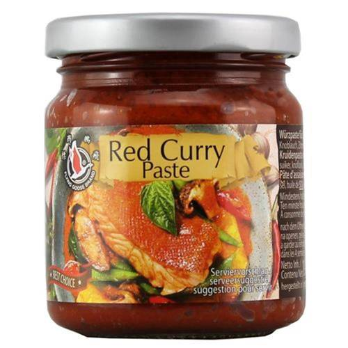 Flying Goose Red Curry Paste 195 g - EAN 8853662044309