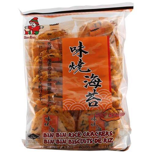 Bin Bin Rice Cracker 135 g - EAN 8852098703170