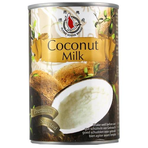Flying Goose Coconut Milk Premium Selected Kokosmilch 400...