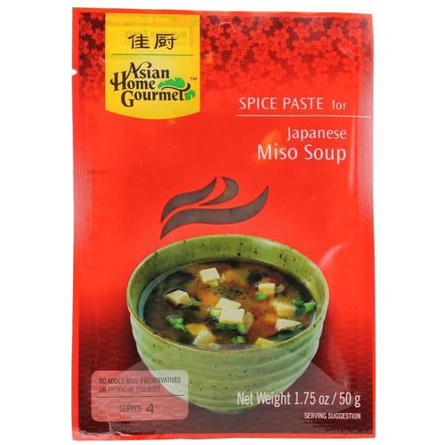 Asian Home Gourmet Würzpaste Japanese Miso Soup 50 g - EAN 8717703642094