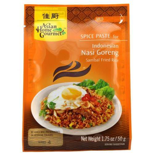 Asian Home Gourmet Würzpaste Indonesian Nasi Goreng 50 g...
