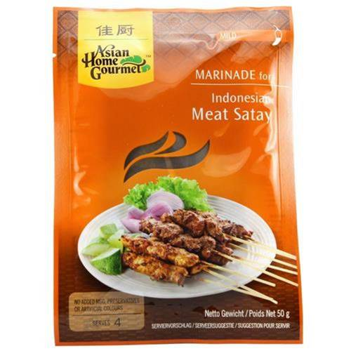 Asian Home Gourmet Marinade Indonesian Meat Satay 50 g -...