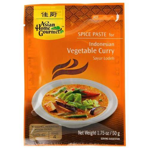 Asian Home Gourmet Würzpaste Indonesian Vegetable Curry...