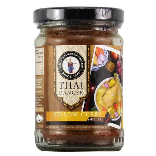Thai Dancer Yellow Curry Paste 227 g - EAN 8852646312274