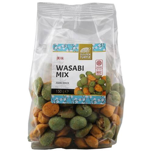 Golden Turtle Brand Wasabi Mix 150 g - EAN 8717703617030