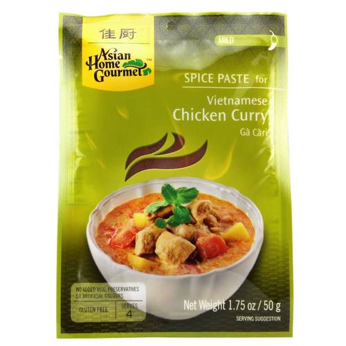 Asian Home Gourmet Würzpaste Vietnamese Chicken Curry Ga...