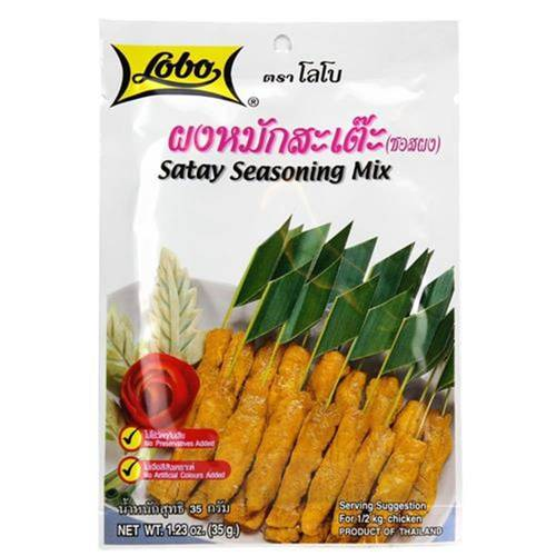Lobo Satay Seasoning Mix 35 g - EAN 8850030112110