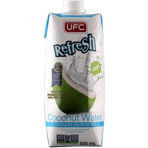 UFC Coconut Water 100% 500 ml - EAN 8850025001023